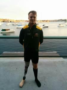 Paralympic Rower Jeremy McGrath
