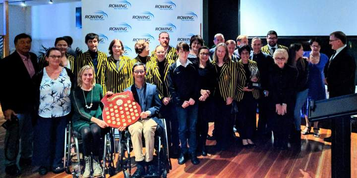 Success at the Rowing NSW Presentation Dinner 2017