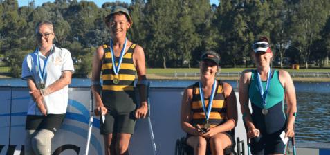 Crews Winning Medals