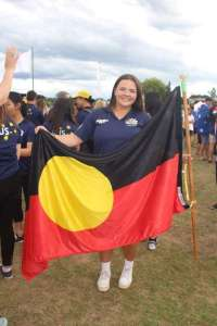 Matilda as the indigenous flag-bearer