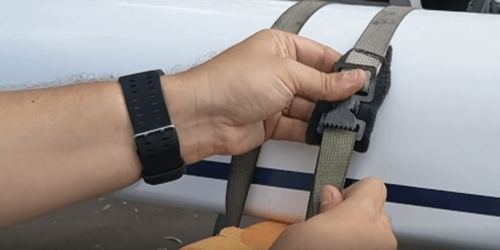 Tuesday-Tip: How to tie down a boat