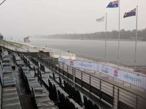 Day 6 of the Regatta definitely saw a change in the weather...