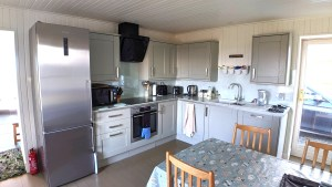 Well equipped kitchen with dishwasher, coffee machine etc.