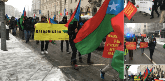 Baloch Republican Party carried out a rally and demonstration in Munich on the occasion of a Security Conference
