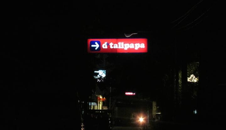 Đường vào D'Talipapa