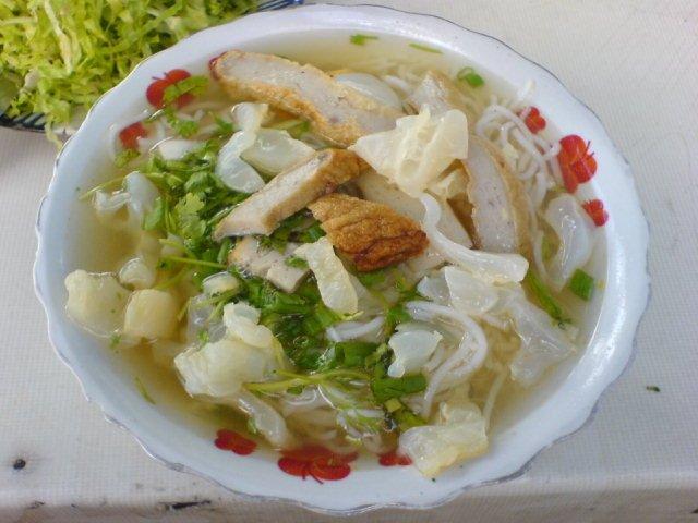 Bánh canh sứa Phú Quốc