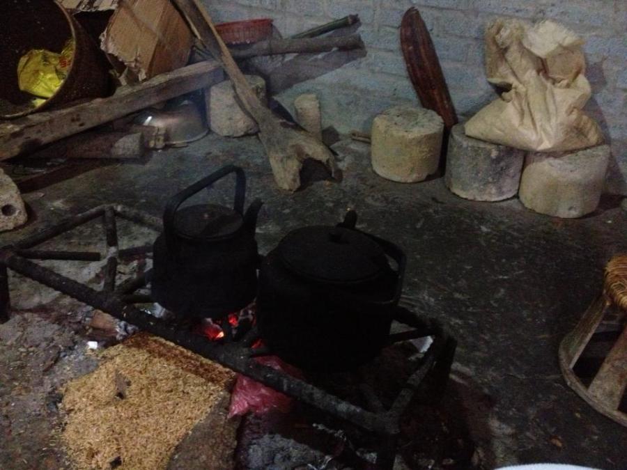 Không gian ấm cúng nhất trong nhà: bếp lửa