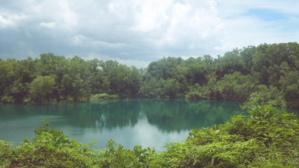 Cảnh đẹp thanh bình tại Pulau Ubin