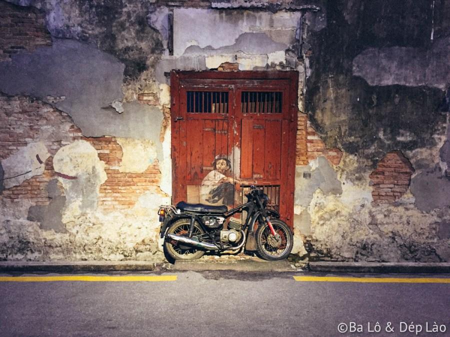 Street Art trên đường phố George Town, Penang