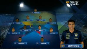 Chile vs Ecuador 11 ECUADOR