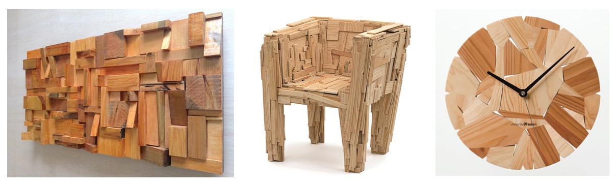 El atractivo valor de cada trozo de madera Qu se puede
