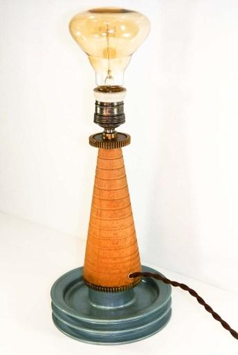 Pedone lampada da tavolo upcycling, Balon Lamps, Torino