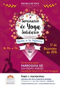 cartel-seminario-de-yoga-solidario-escuela-de-yoga-conchita-morera