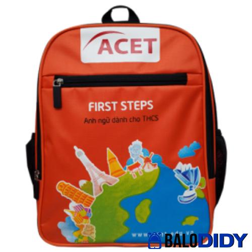 Balo Acet: mẫu balo anh ngữ học thuật - giáo dục quốc tế - Balo DiDy