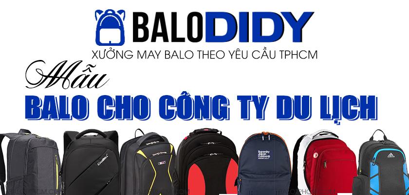 Dịch vụ may balo công ty du lịch ở TPHCM - Balo DiDy