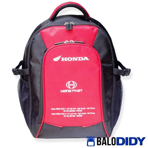 balo honda - Mẫu balo cho đại lý xe máy Honda Yamaha Suzuki