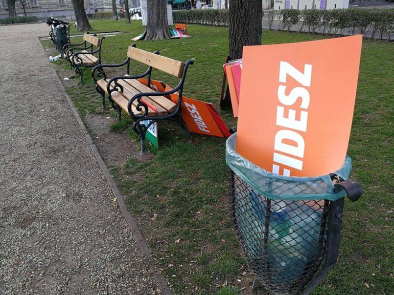 Friss számok: Beszakadt a Fidesz támogatottsága - a tüntetések hatására meggyengültek a kormánypártok