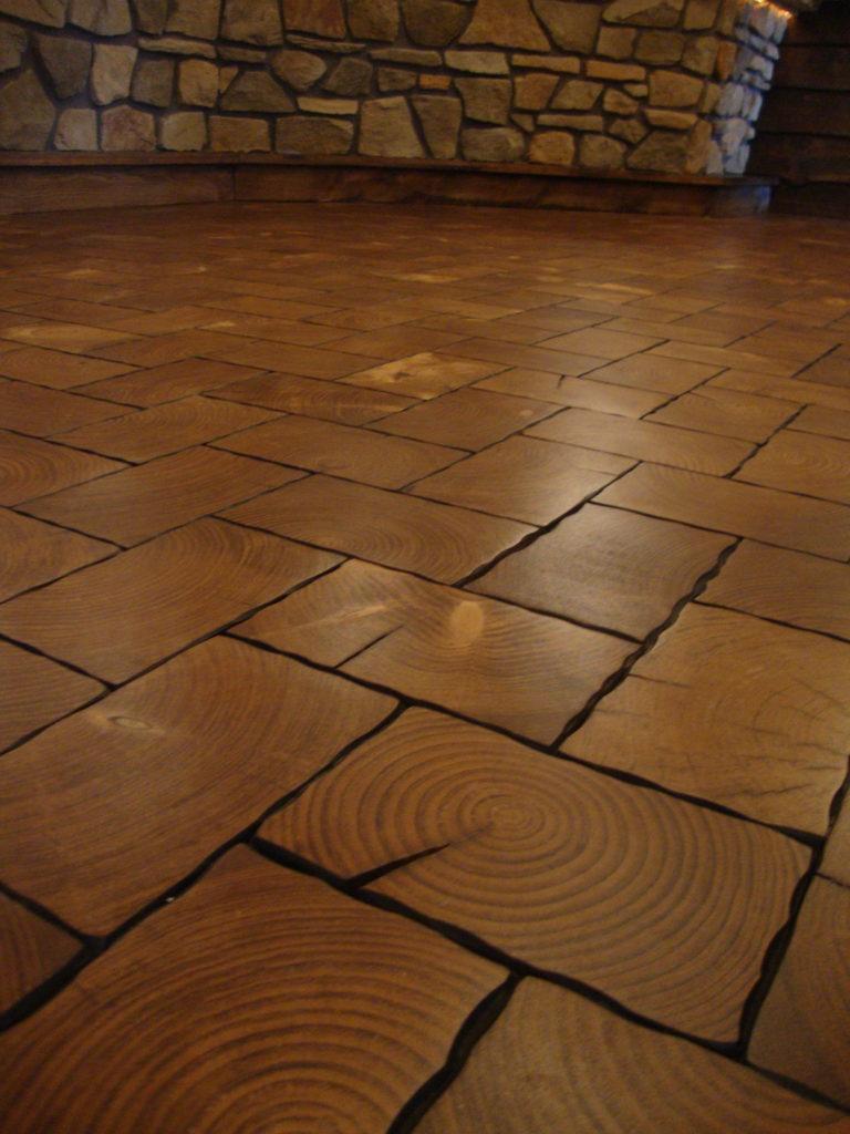 End Grain Flooring