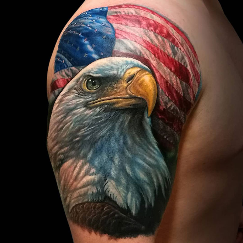 David Mendoza Tatuador De Realismo A Color Baltasar Tattoo Madrid