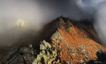 Brocken Spectre On Szpiglasowy Wierch