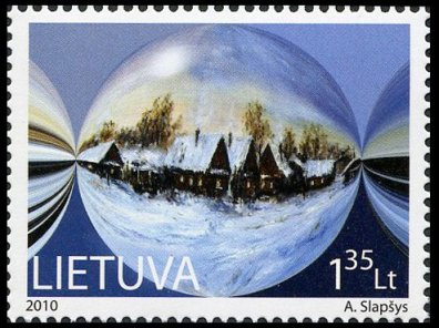 Lithuanian postage stamp 2010