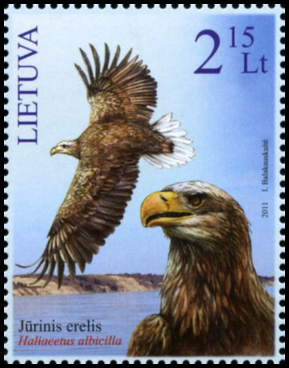 Lithuanian postage stamp 2011 Red Book
