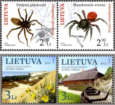 Lithuanian postage stamp 2012_