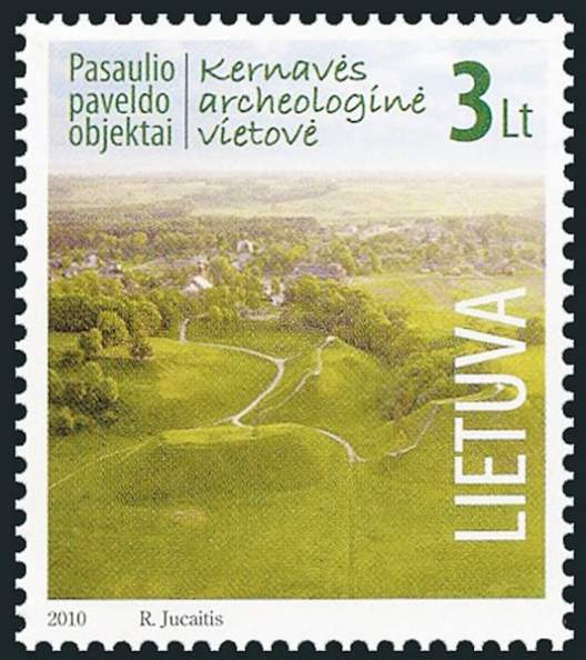 Lithuanian postage stamp 2013