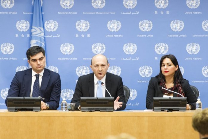 Press Briefing by Ambassador Kaha Imnadze, Permanent Representative of Georgia to the United Nations