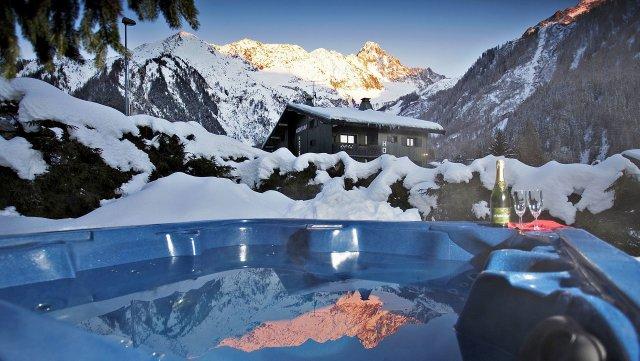 Chamonix skii resort
