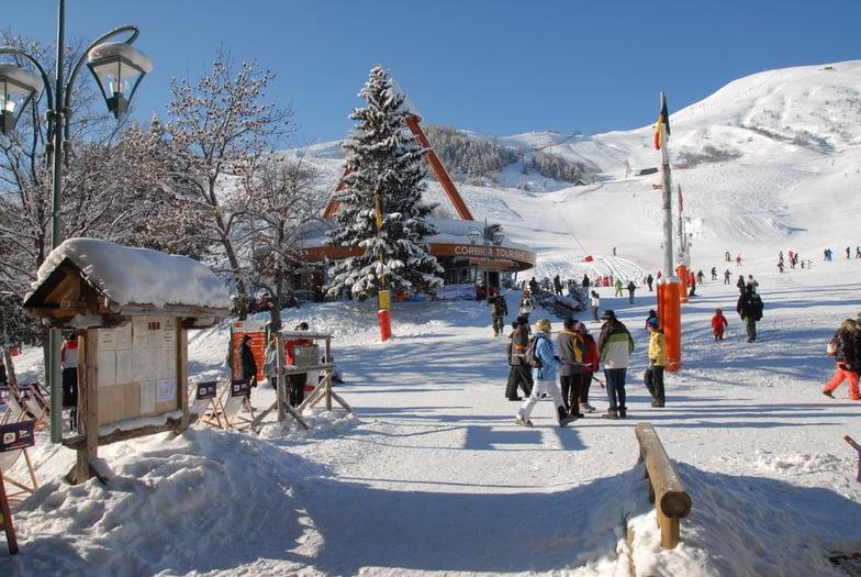 Le Corbier skii resort