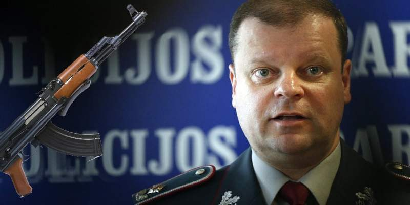 Lithuanian interior minister