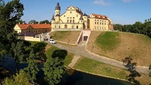 The Republic of Belarus Nesvizh castle