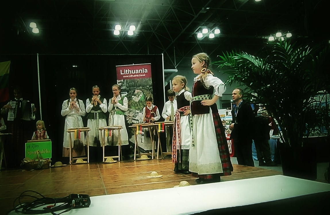 "As Violeta Kundrotienė, pictured playing the accordion in the back row, puts it, ""the dream for Spindulėlis was simple: to work not for your own good, but to work to preserve Lithuanian roots."" Photo: Ann Charles"