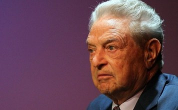 American billionaire and philanthropist George Soros