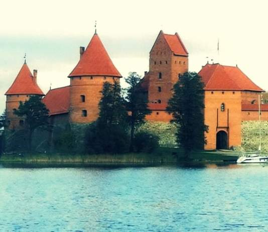 Among the many cultural sights in the Baltic countries of Lithuania, Latvia, and Estonia is this very popular tourist attraction, Trakai Castle, in Lithuania. Photo: Ann Charles