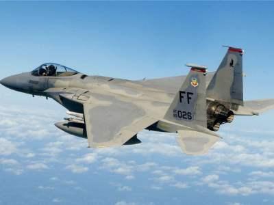 US F-15 Jet