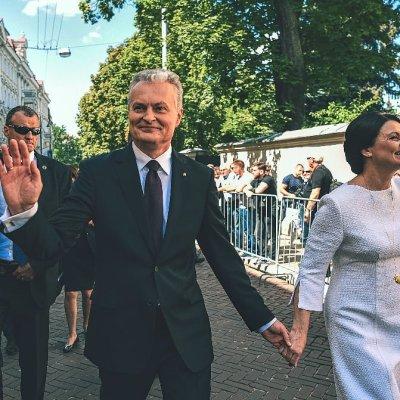 President Gitanas Nausėda and First Lady Diana Nausėdienė