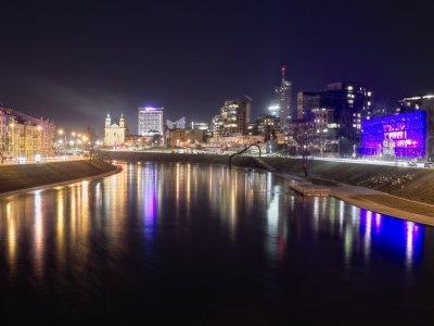 Vilnius night
