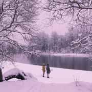Vilnius Valakampiai Winter