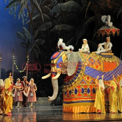 Lithuanian National Theatre ballet La Bayadère