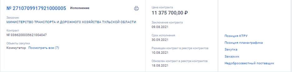 Компания сына Соколова стала единственным участником торгов в Тульской области