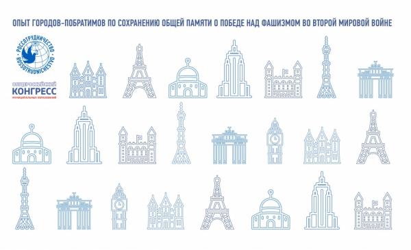Российские и зарубежные города объединил проект по сохранению памяти о победе над фашизмом