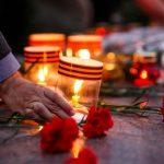 В Германии зажгли свечи у мемориалов советским воинам