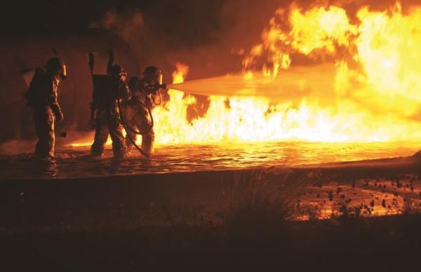 В Маарду при пожаре пострадали четыре человека