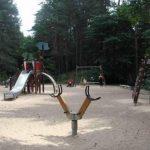 В Риге закрыты детские игровые площадки