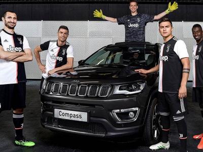 Американский Jeep продолжает сотрудничество с итальянскими футболистами