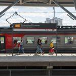 Более 3,6 тыс пассажиров воспользовались станцией МЦД Славянский бульвар за день