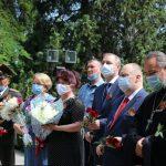 В Оше прошли торжественные мероприятия в День памяти и скорби и годовщину парада Победы 1945 года