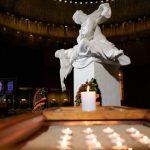 На Поклонной горе зажгли «Огненную картину войны»